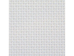 Toile à broder aïda 5,5 en 150 cm Blanc ou Ecru