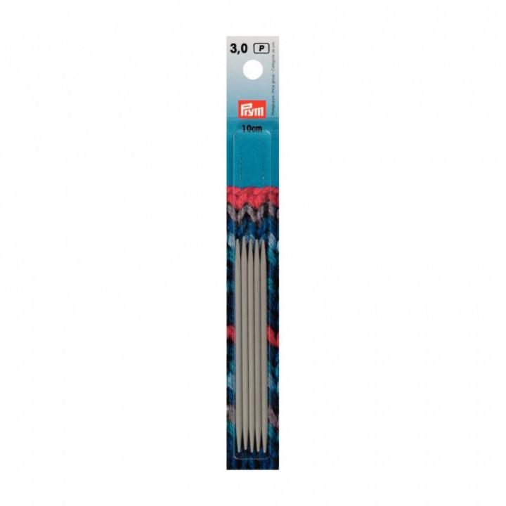 Aiguilles à tricoter du 2 au 3.5 mm  double pointes 10 cm- Jeux de 5 aiguilles