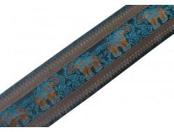 Galon brodé éléphant