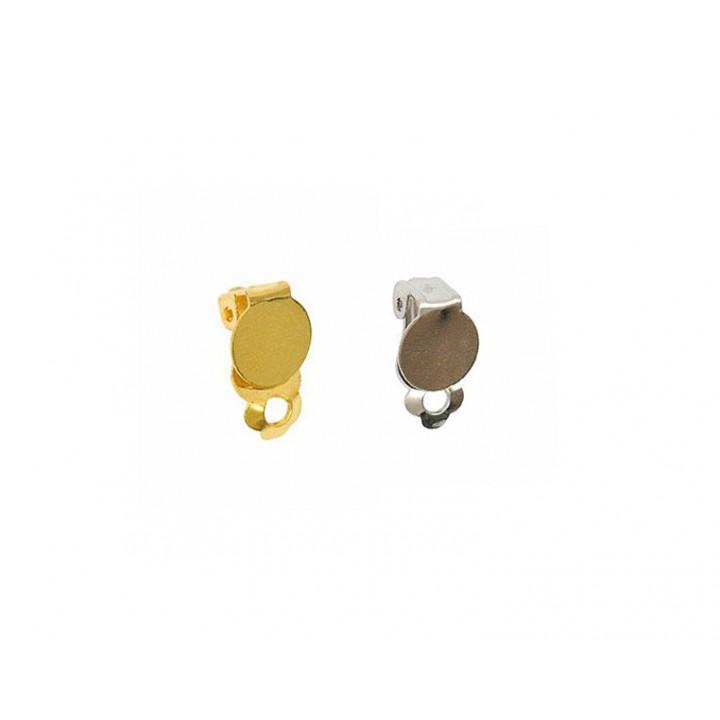 Fermoir, clip boucle d'oreille Rico Design