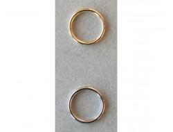 Anneaux 10 mm or ou argent