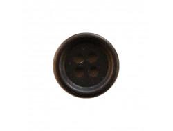 Bouton noir 12mm