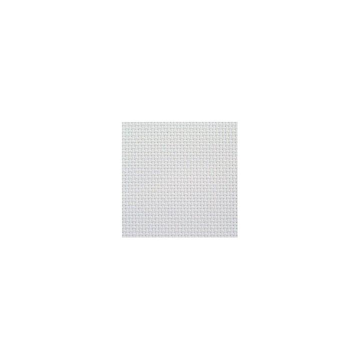 Toile à broder aïda 7 en 150 cm Blanc ou Ecru