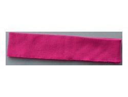 Bas de blouson acrylique rose
