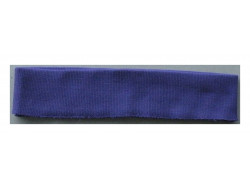 Bas de blouson acrylique violet