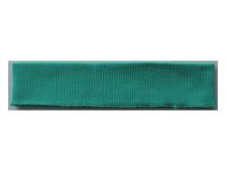 Bas de blouson acrylique vert