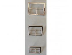 Boucle de ceinture métal argent