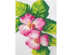 Kit canevas Hibiscus