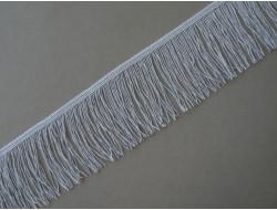 Frange lurex argent 10 cm