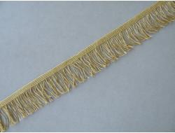 Frange métal doré - 5 cm