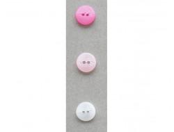 Bouton rose ou blanc