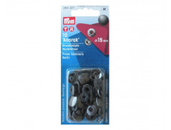 Boutons pression Anorak bronze 15 mm, recharge Prym