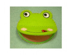 Ecusson thermocollant grenouille