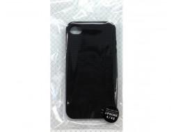 Coque téléphone portable noir pour iphone 4 / 4S à broder Rico