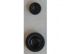 Bouton classique noir