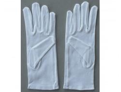Gants blanc coton