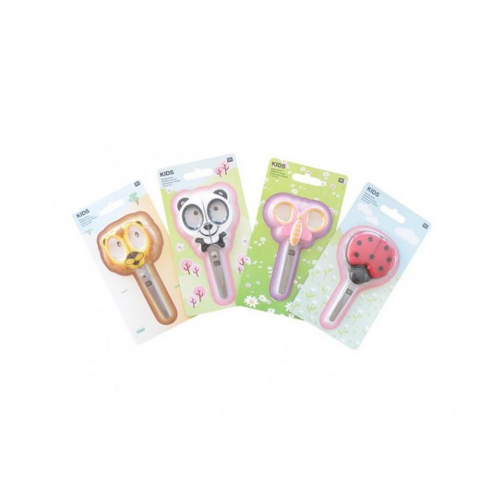 Ciseaux pour enfants lion, panda, papillons ou coccinelle