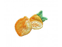 Ecusson thermocollant citrons