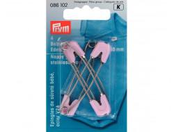 Épingles de sûreté bébé rose Prym