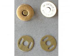 Aimant de sac, extra fin Bronze 14 mm