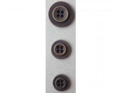 Bouton bronze 15 - 18 et 22 mm