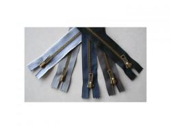 Fermeture à glissière métal spécial jeans