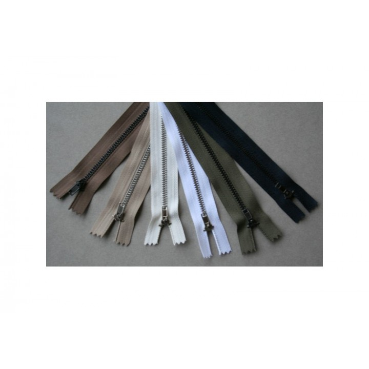 Fermeture à glissière métal spécial pantalons