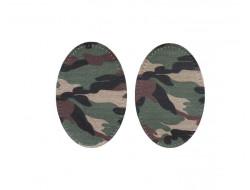 Renforts pour coudes ou genoux camouflage