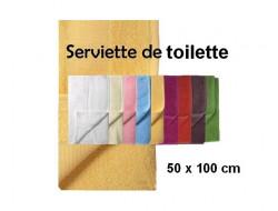 Serviette de toilette 50 x 100 à broder