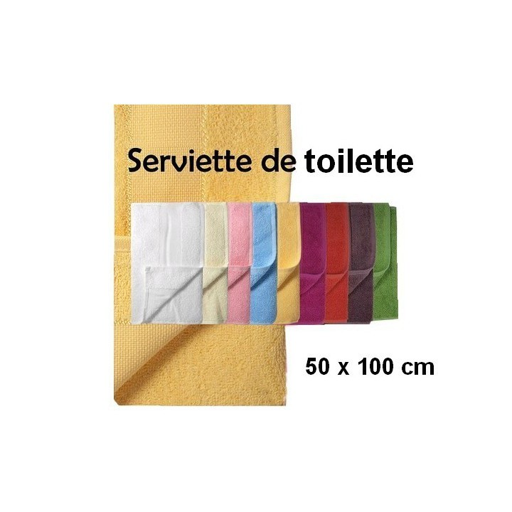 serviette de toilette 50 x 100 bande broder aida 5 5 mercerie floriane. Black Bedroom Furniture Sets. Home Design Ideas