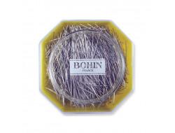 Épingles à tête acier super fines Bohin n°4