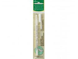 Crayon marqueur Blanc Clover
