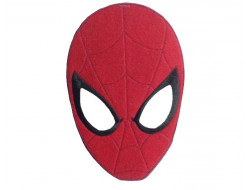 Ecusson thermocollant masque de Spider-man grande taille (20 cm)