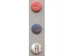 Bouton bois couleurs