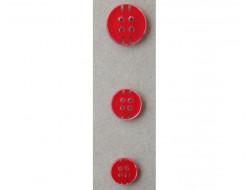 Bouton rouge classique