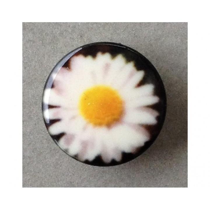 Bouton marguerite 18 mm