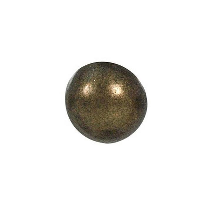 Bouton métal bronze 12 , 15 et 18 mm