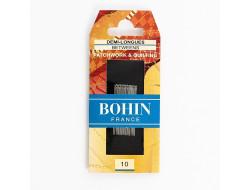 Aiguilles demi-longues Patchwork- boutis Bohin N°10