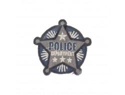 Ecusson thermocollant étoile Police