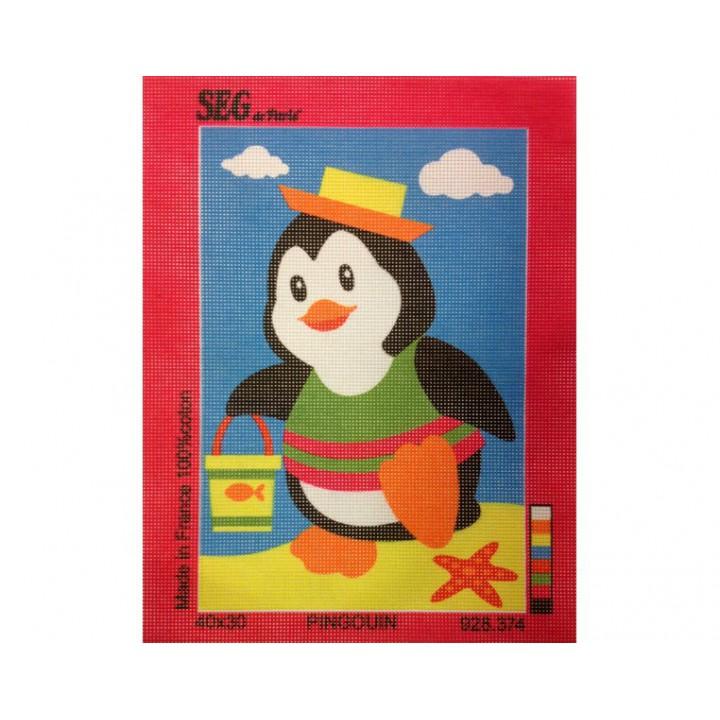 Canevas, Pingouin, SEG