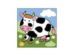 Canevas facile Vache Seg
