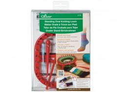 Métier ovale à tricoter sur pied Clover