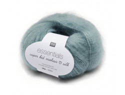 Fil Essentials super kid mohair loves silk (25 gr) 70 % Mohair 30 % soie - Rico