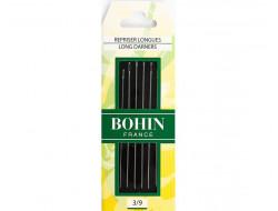 Aiguilles à repriser longue 3/9 Bohin