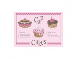 Grille Cupcakes recette Points de repère