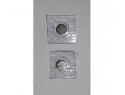 Boutons aimant Néodyme gainés de PVC 10 mm