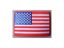 Ecusson thermocollant drapeau USA