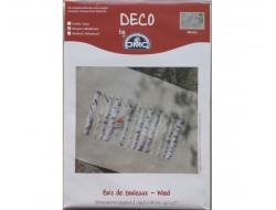 Kit point de croix Bois de bouleaux DMC