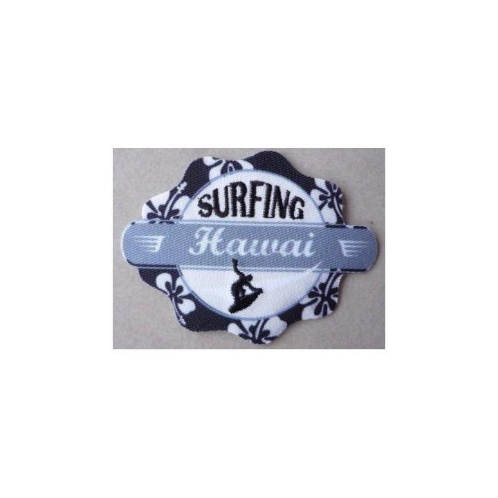 Ecusson thermocollant Surfing Hawaï