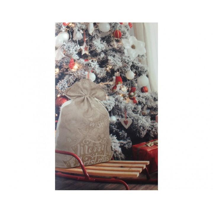 Sac arbre de Noël à broder, DMC